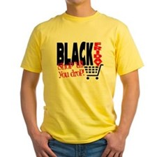 Black Friday Shopping Cart T