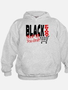 Black Friday Shopping Cart Hoodie