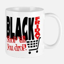 Black Friday Shopping Cart Mug