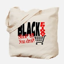 Black Friday Shopping Cart Tote Bag