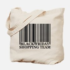 Black Friday Shopping Team Tote Bag