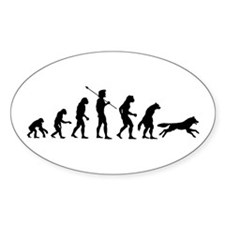 Werewolf Evolution Oval Decal