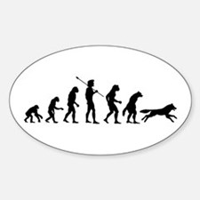 Werewolf Evolution Oval Decal