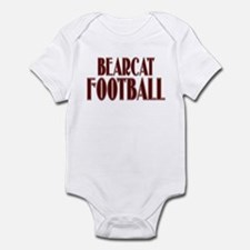 BEARCAT FOOTBALL (28) Infant Bodysuit