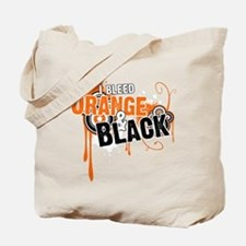 Orange & Black Tote Bag