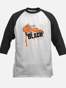 Orange & Black Tee
