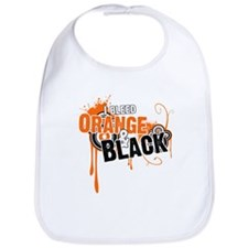 Orange & Black Bib