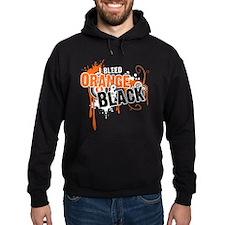 Orange & Black Hoodie
