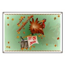Happy Out Of Order Thanksgivi Banner