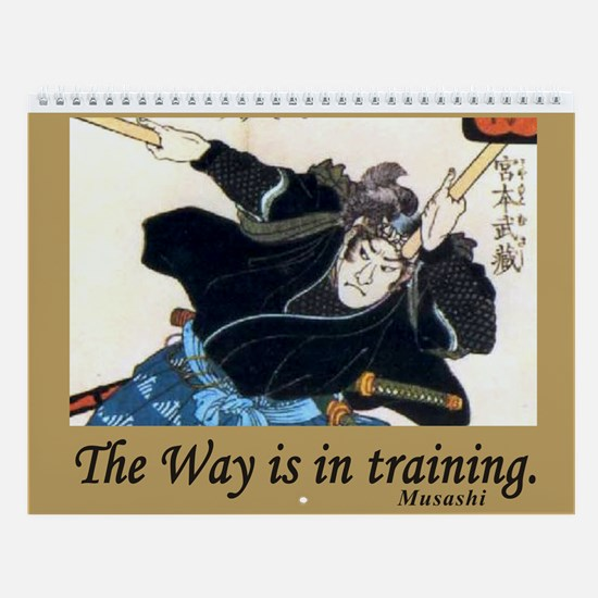 Zen And The Martial Arts Wall Calendar