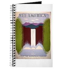 National Park Waterfall Journal