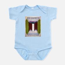National Park Waterfall Infant Bodysuit