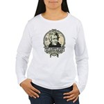 Irony is Andrew Jackson Women's Long Sleeve T-Shir