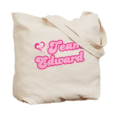 Team Edward Cullen Tote Bag
