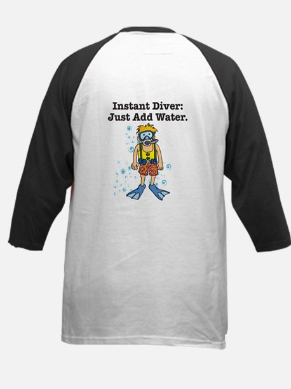 Instant Diver Kids Baseball Jersey