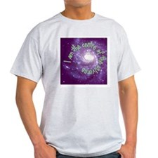 I am the center of the univer Ash Grey T-Shirt