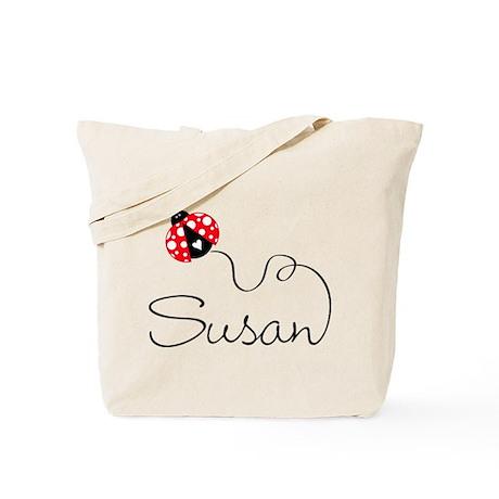 Ladybug Susan Tote Bag