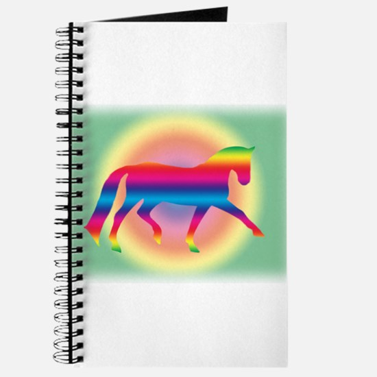 dressage trot rainbow Journal