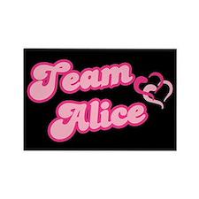 Team Alice Cullen Rectangle Magnet