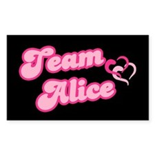 Team Alice Cullen Rectangle Decal