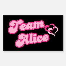 Team Alice Cullen Rectangle Decal