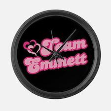 Team Emmett Large Wall Clock