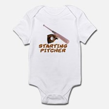 Starting Pitcher Infant Bodysuit