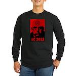 Aleister Crowley 2012 Long Sleeve Dark T-Shirt