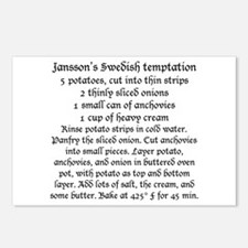 Jansson's temptation on Postcards (Package of 8)