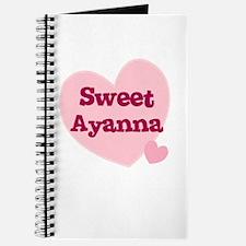 Sweet Ayanna Journal