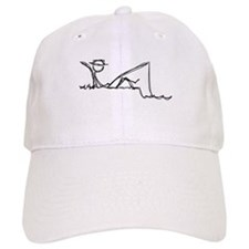 Lazing Fisherman Baseball Cap