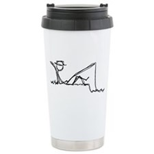 Lazing Fisherman Travel Coffee Mug