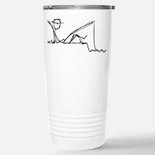 Lazing Fisherman Travel Mug