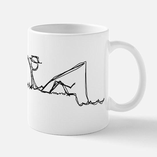 Lazing Fisherman Mug