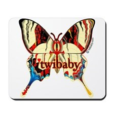 Twibaby Immortal Butterfly Mousepad