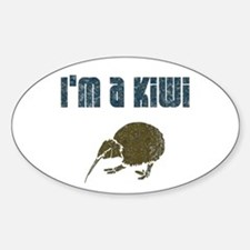 I'm a Kiwi Oval Decal