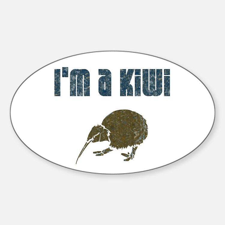 I'm a Kiwi Oval Decal
