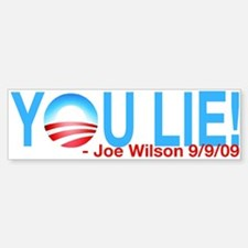 You Lie! - Bumper Bumper Bumper Sticker