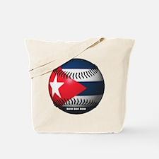 Cuban Baseball Tote Bag