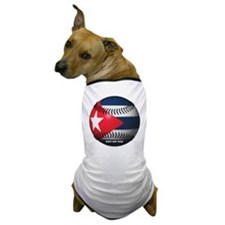 Cuban Baseball Dog T-Shirt