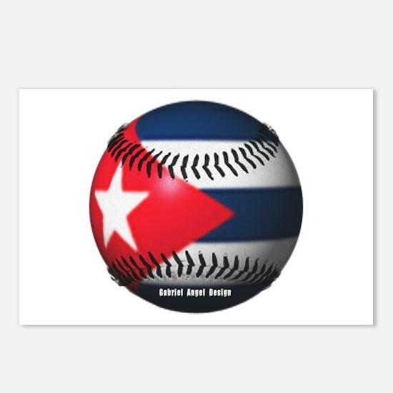 Cuban Baseball Postcards (Package of 8)