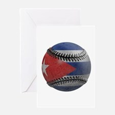Cuban Baseball Greeting Card