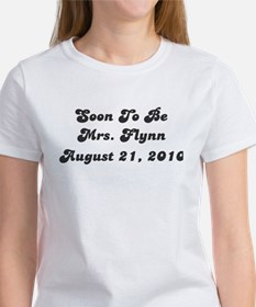 Soon To Be Mrs. Flynn August 21, 2010 Tee