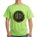 Shri Yantra Green T-Shirt