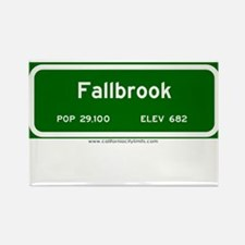 Fallbrook Rectangle Magnet