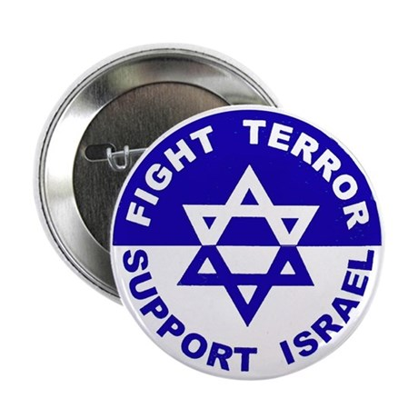 "Fight Terror Support Israel 2.25"" Button (10 pack)"