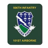 2 506th infantry 101st airborne Mouse Pads