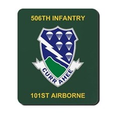 506th Infantry Regiment Mousepad