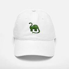 Green Dinosaur Baseball Baseball Cap