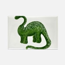 Green Dinosaur Rectangle Magnet (100 pack)